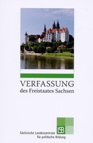 Titelseite Verfassung des Freistaates Sachsen