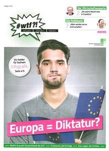 "1102 wtf-Magazin 2 ""Europa = Diktatur?"" (Ausgabe 1/2017)"