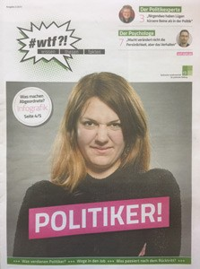 """1103 wtf-Magazin 3 (Ausgabe 2/2017) """"Politiker!"""""""