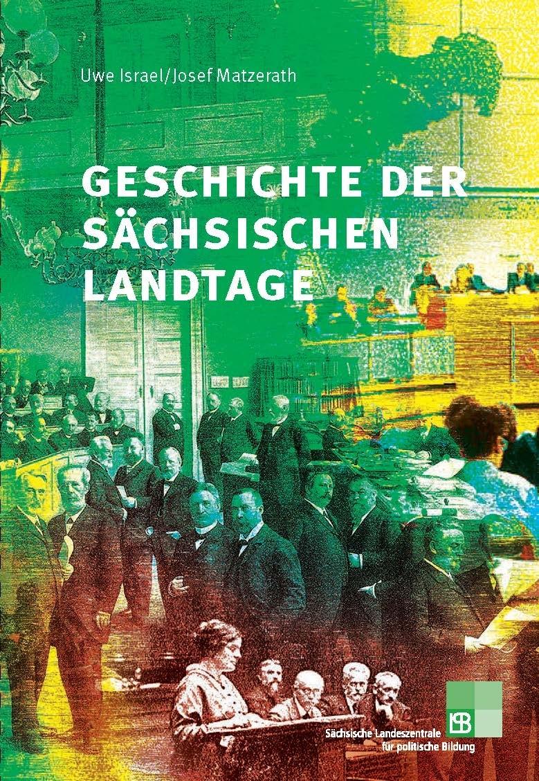 Cover Geschichte der sächsischen Landtage