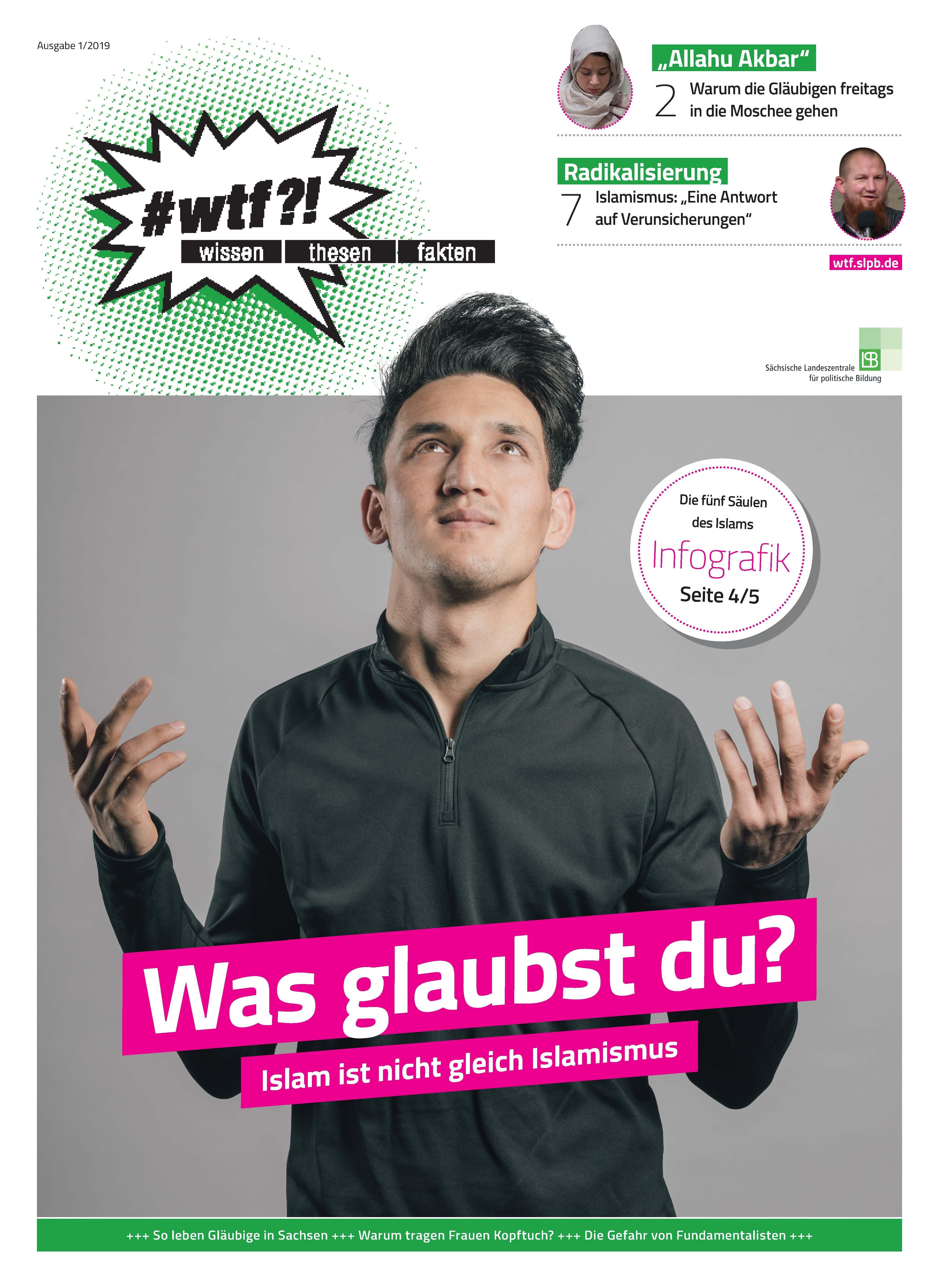Cover wtf-Magazin 1/2019