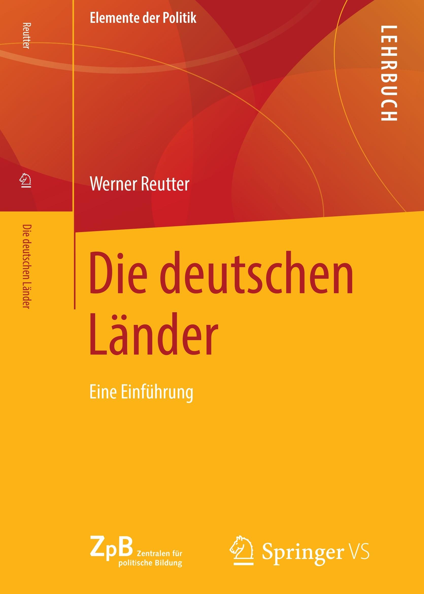 Titelseite groß 405* Die deutschen Länder. Eine Einführung
