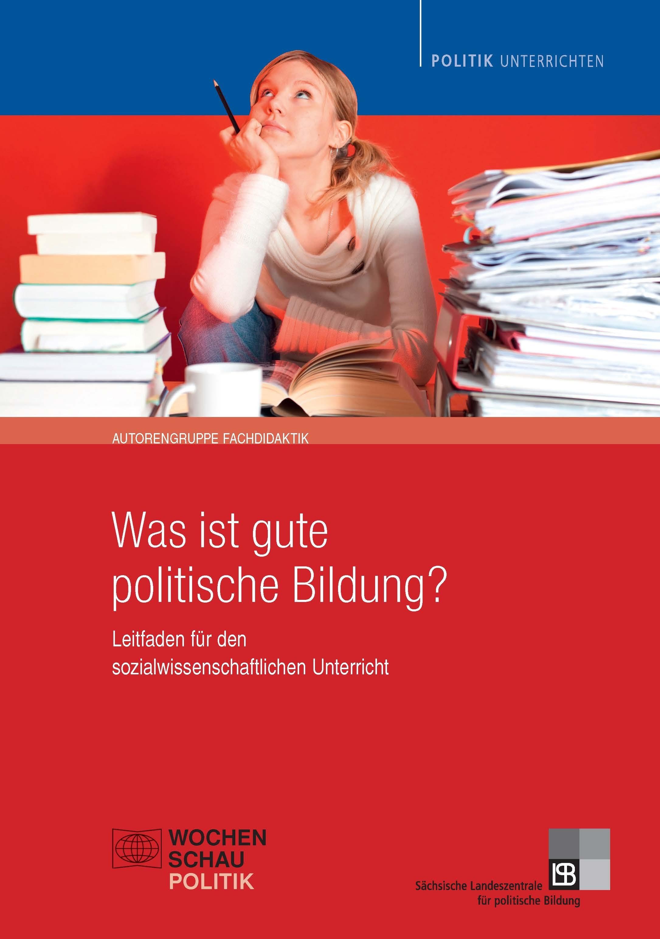 Cover Was ist gute politische Bildung