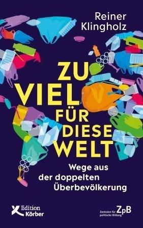 """Titelseite """"Zu viel fuer diese Welt"""""""