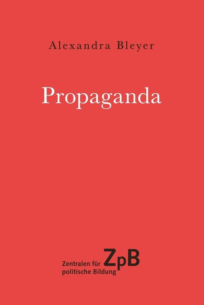 Titelseite klein 644* Propaganda. 100 Seiten