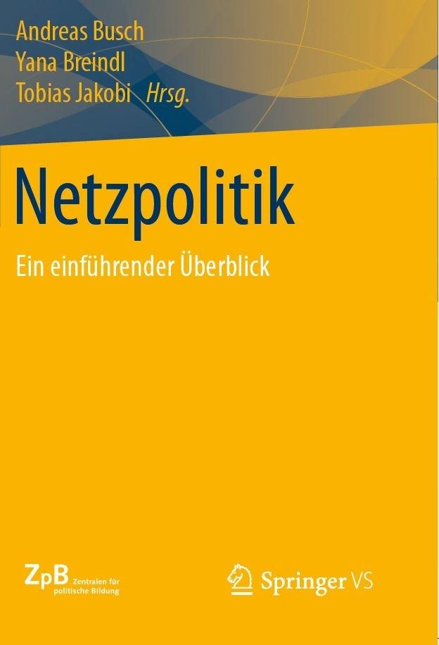 Cover Netzpolitik. Ein Überblick