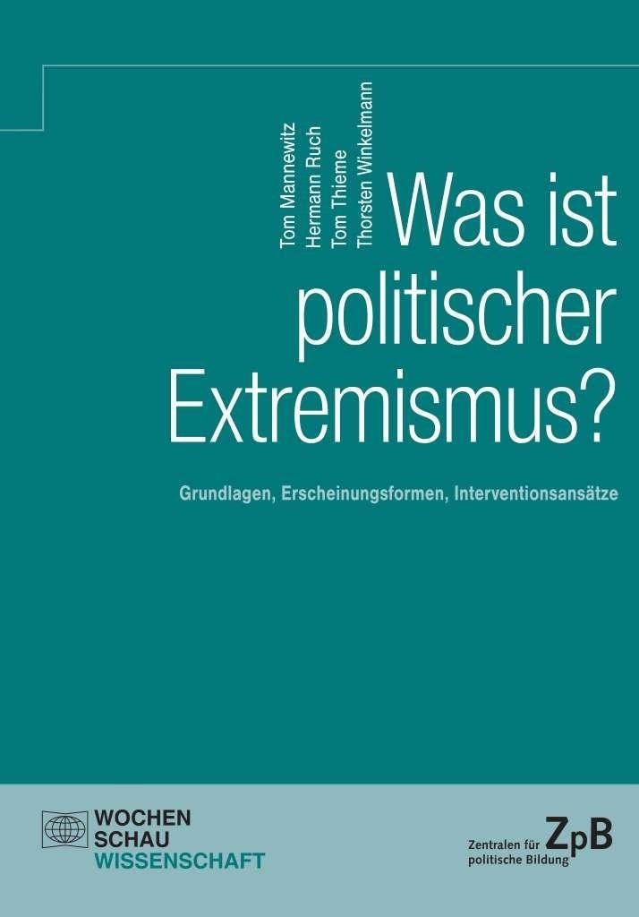 """Cover """"Was ist politischer Extremismus?"""""""
