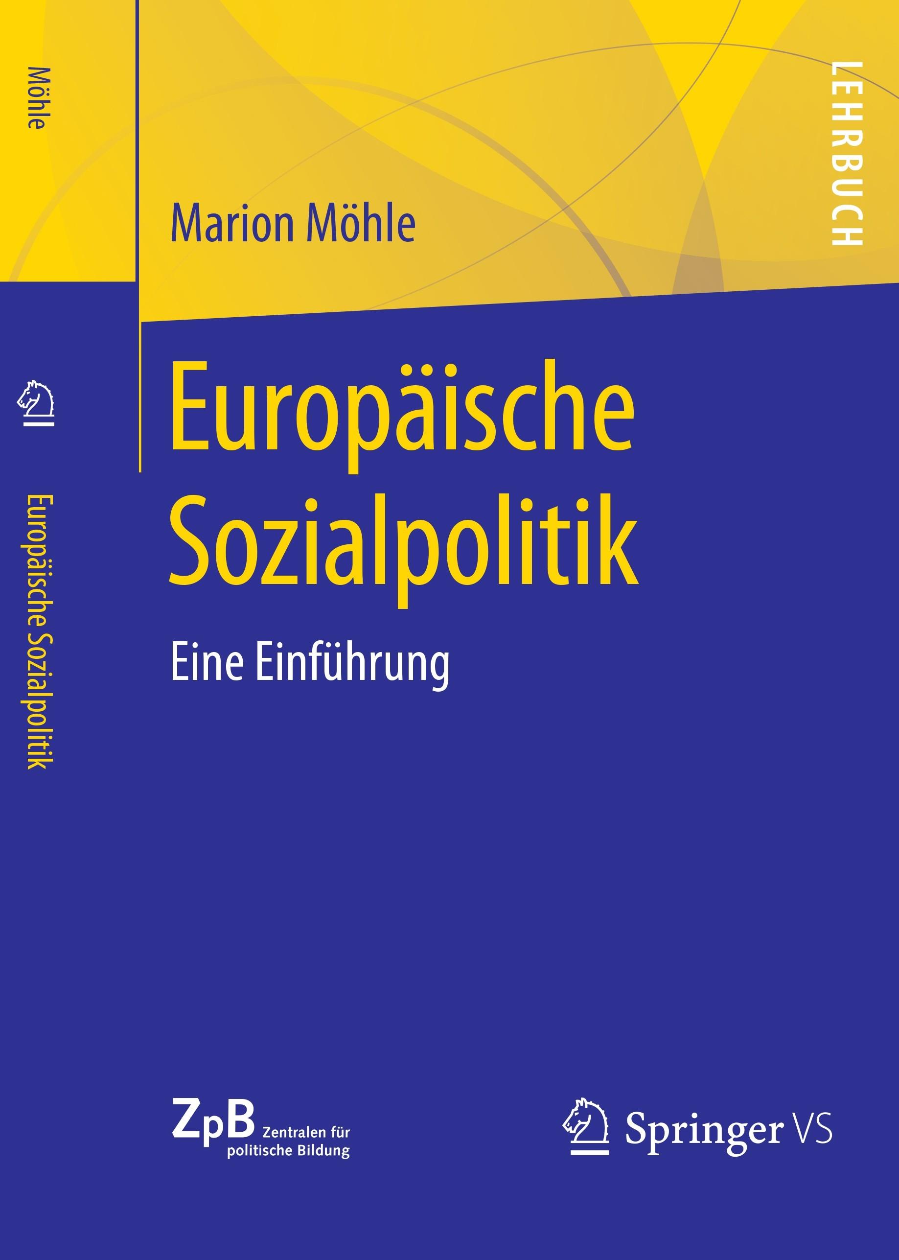 Titelseite groß 807* Europäische Sozialpolitik. Eine Einführung