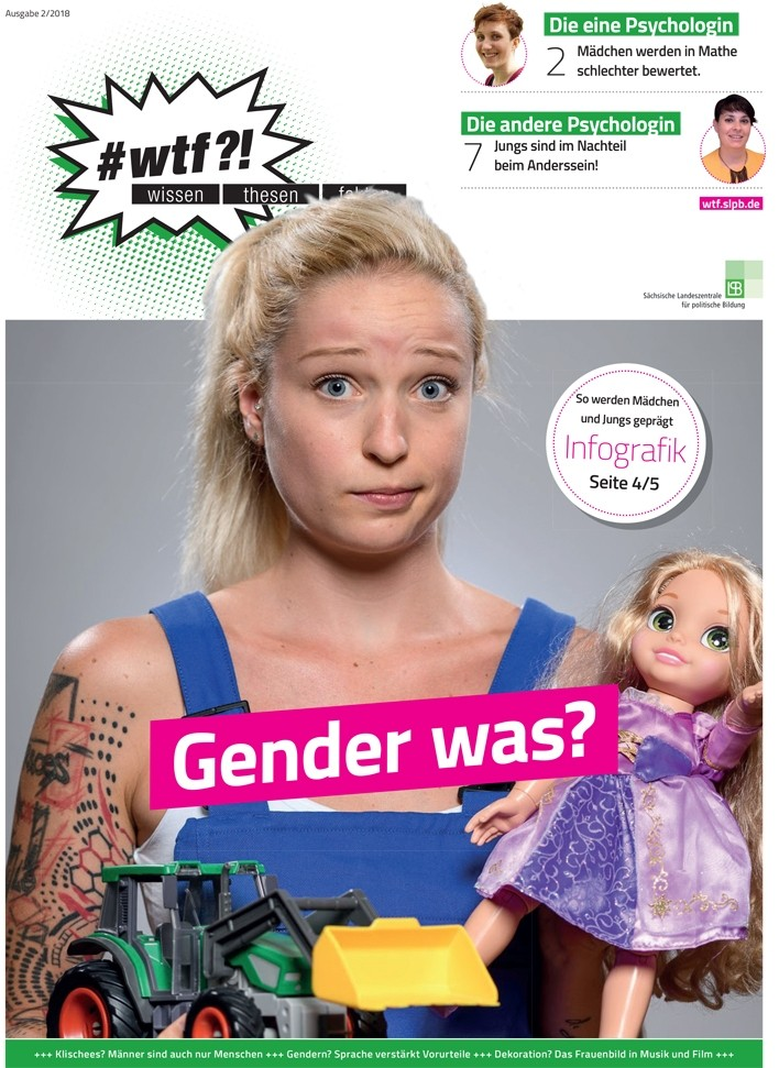 "1107 wtf-Magazin 7 (Ausgabe 2/2018) ""Gender was?"""