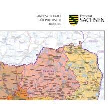 101 Teilansicht Handkarte Freistaat Sachsen