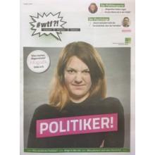 """1103 wtf-Magazin 3 """"Politiker!"""" (Ausgabe 2/2017)"""