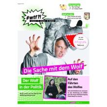 """1122 wtf-Magazin 11 """"Die Sache mit dem Wolf"""" (Ausgabe 3/2019)"""