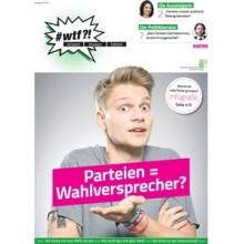 """1104 wtf-Magazin 4 """"Parteien = Wahlversprecher?"""" (Ausgabe 3/2017)"""