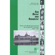 150 Von Macht und Ohnmacht. Sächsische Ministerpräsidenten 1919 bis 1952