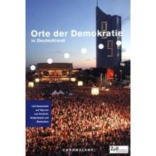 Titelseite klein 503* Orte der Demokratie  in Deutschland. 123 Reiseziele auf Spuren von Freiheit, Widerstand und Gedenken