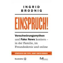 Titelseite Einspruch! Verschwöhrungsmythen und Fake News kontern - in der Familie, im Freundeskreis und online