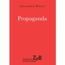 Titelseite groß 644* Propaganda. 100 Seiten