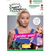 """1107 wtf-Magazin 7 """"Gender was?"""" (Ausgabe 2/2018)"""