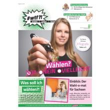 Cover wtf-Magazin 2/2019 Wählen
